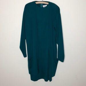 Classiques Entier Dresses - Vintage Nordstrom wool blend dress + sweater L